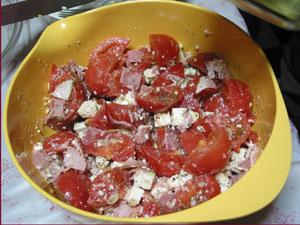 salade de feta