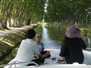 ミディ運河の旅@エスパス・ア・ゴゴ