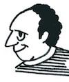 講師Eric Dupuyの似顔絵